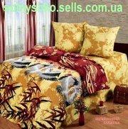 Продам постельное белье двухспальное Журавли ТМ Любимый дом
