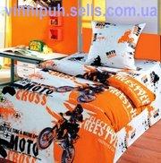 Продам детское постельное белье Мотокросс 1 ТМ Непоседа