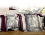 Постельное белье недорого,  Комплект Евро «Сонный сад»