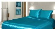 Комплект постельного белья из атласа евро размер