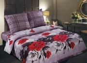 Элитное постельное белье Киев,  Комплекты Красные цветы