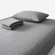 комлекты постели (серый лен) в экоупаковке